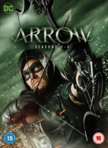 Arrow: Seasons 1-4, DVD
