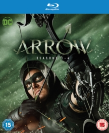 Arrow: Seasons 1-4, Blu-ray BluRay