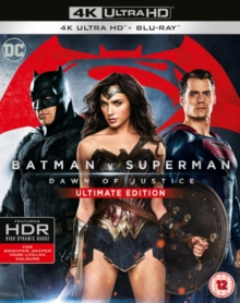 Batman V Superman - Dawn of Justice: Ultimate Edition, Blu-ray