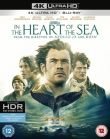 In the Heart of the Sea, Blu-ray