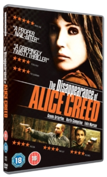The Disappearance of Alice Creed, DVD