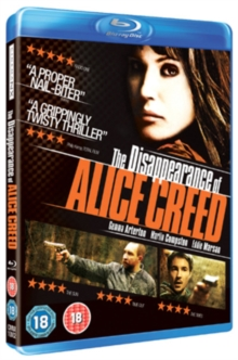 The Disappearance of Alice Creed, Blu-ray