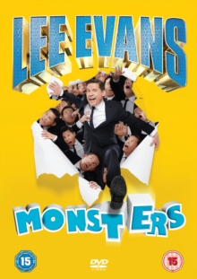 Lee Evans: Monsters, DVD