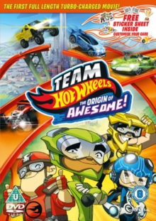 Team Hot Wheels: The Origin of Awesome!, DVD