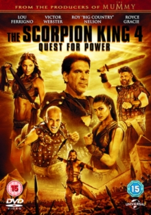 The Scorpion King 4 - Quest for Power, DVD DVD