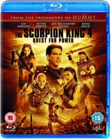 The Scorpion King 4 - Quest for Power, Blu-ray BluRay