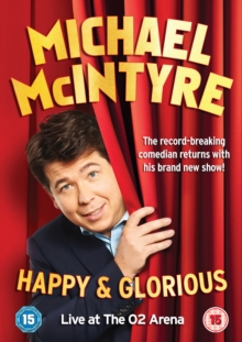 Michael McIntyre: Happy and Glorious, DVD  DVD