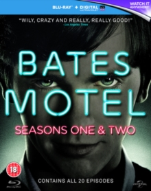 Bates Motel: Seasons 1 and 2, Blu-ray