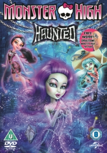 Monster High: Haunted, DVD