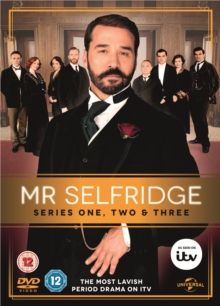 Mr. Selfridge: Series 1-3, DVD  DVD