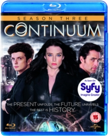 Continuum: Season 3, Blu-ray