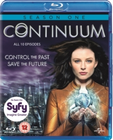 Continuum: Season 1, Blu-ray  BluRay