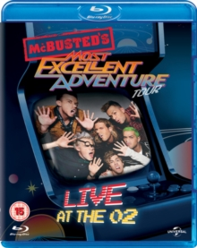 McBusted: Most Excellent Adventure Tour - Live at the O2, Blu-ray