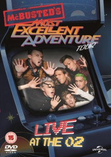 McBusted: Most Excellent Adventure Tour - Live at the O2, DVD