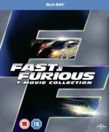 Fast & Furious: 7-movie Collection, Blu-ray BluRay