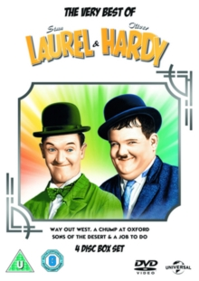 The Very Best of Laurel and Hardy, DVD DVD