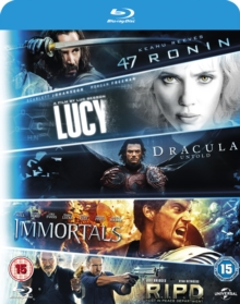 47 Ronin/R.I.P.D./Immortals/Dracula Untold/Lucy, Blu-ray  BluRay