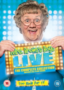 Mrs Brown's Boys: Live 2012-2015, DVD