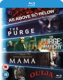 Mama/The Purge/The Purge: Anarchy/Ouija/As Above, So Below, Blu-ray