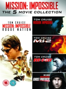 Mission Impossible 1-5, DVD
