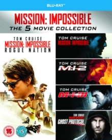 Mission Impossible 1-5, Blu-ray  BluRay