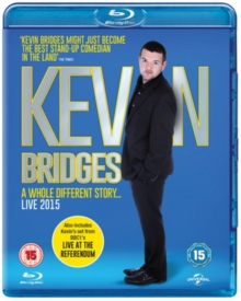 Kevin Bridges Live: A Whole Different Story, Blu-ray