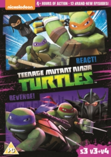 Teenage Mutant Ninja Turtles: React!/Revenge! - Season 3..., DVD
