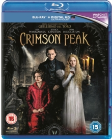Crimson Peak, Blu-ray