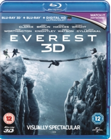 Everest, Blu-ray