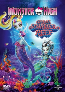 Monster High: Great Scarrier Reef, DVD