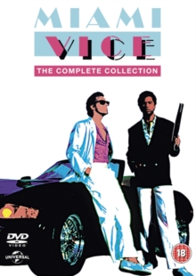 Miami Vice: The Complete Collection, DVD DVD
