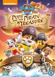 Paw Patrol: Pups and the Pirate Treasure, DVD