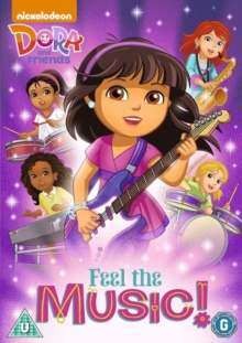 Dora and Friends: Feel the Music, DVD
