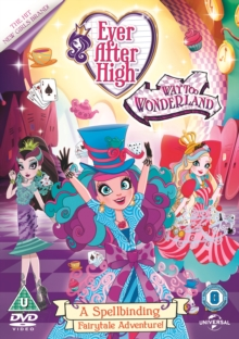 Ever After High: Way Too Wonderland, DVD