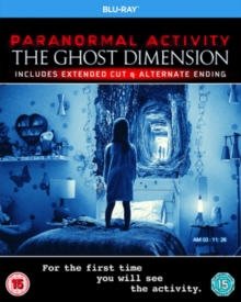 Paranormal Activity: The Ghost Dimension: Extended Cut, Blu-ray BluRay
