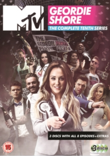 Geordie Shore: The Complete Tenth Series, DVD DVD