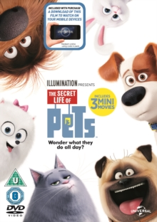 The Secret Life of Pets, DVD