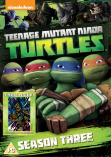 Teenage Mutant Ninja Turtles: Season 3 Complete Collection, DVD