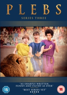 Plebs: Series 3, DVD