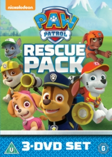 Paw Patrol: Rescue Pack, DVD