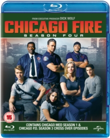 Chicago Fire: Season 4, Blu-ray