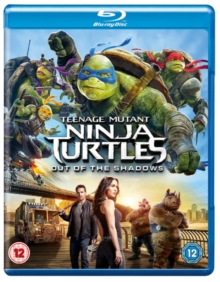 Teenage Mutant Ninja Turtles: Out of the Shadows, Blu-ray