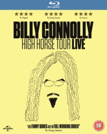 Billy Connolly: High Horse Tour, Blu-ray BluRay