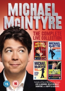 Michael McIntyre: The Complete Live Collection, DVD