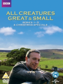 All Creatures Great and Small: Series 1-3, DVD