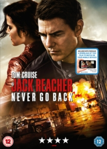 Jack Reacher - Never Go Back, DVD DVD
