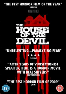 The House of the Devil, DVD