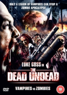The Dead Undead - Vampires Vs Zombies, DVD DVD