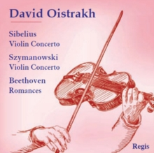 David Oistrakh: Sibelius: Violin Concerto/..., CD / Album Cd