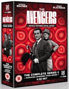 The Avengers: The Complete Series 2 and Surviving Episodes..., DVD